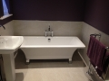 Free standing contemporary bath